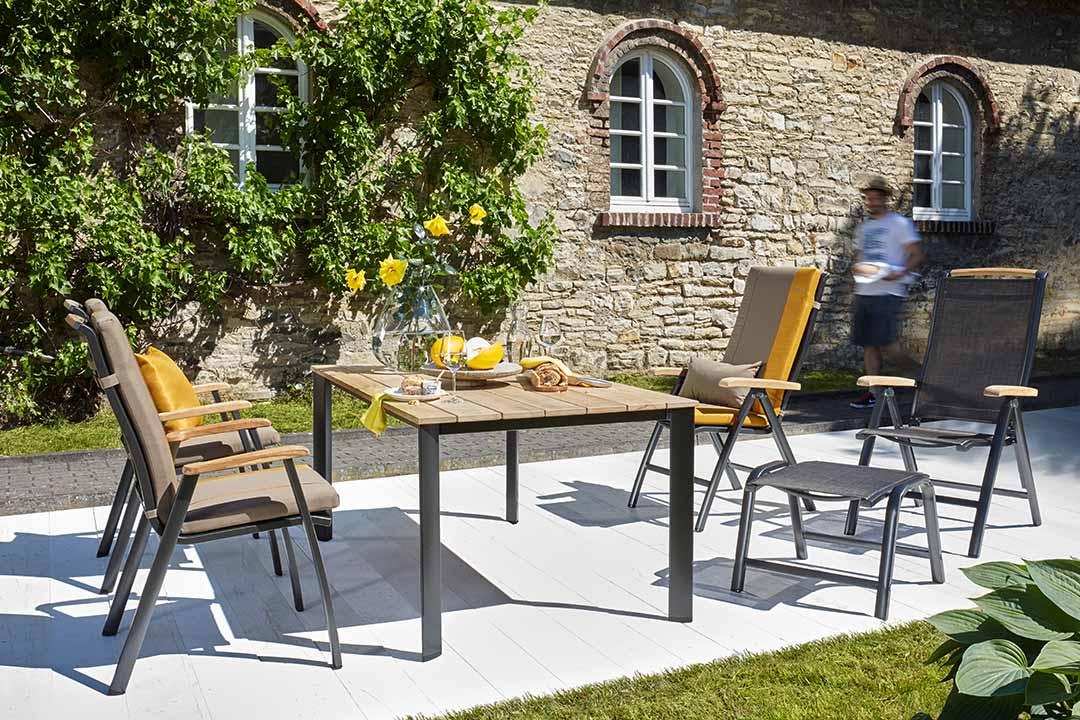 gartenm bel ziegeler outdoor living. Black Bedroom Furniture Sets. Home Design Ideas