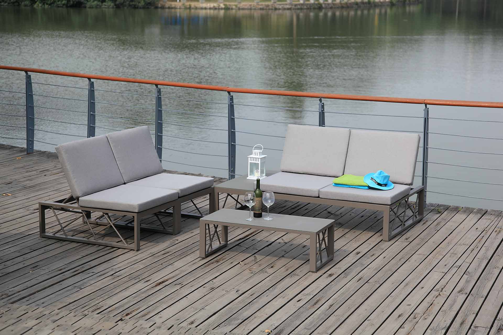 gartenm bel von zebra ziegeler outdoor living. Black Bedroom Furniture Sets. Home Design Ideas